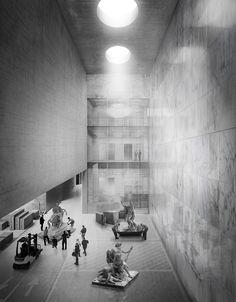 R. GABRION & A. CAMPO BAEZA // Pôle de Conservation du Musée du Louvre à Liévin