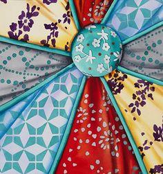 Brittney Tough, Watercolour on Paper, Button Tuft- Grey #watercolor #watercolour #watercolorartist #watercolourartist #watercolorpainting #watercolourpainting #canadianartist #artist #colour #contemporarywatercolour #contemporaryrealism #interiordesign #interiordecor #design #decor #patchworkquilt #fabric #quilting #quilt #pattern #pillow #button #turquoise