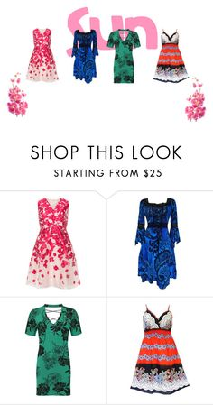 """""""summer plus"""" by alexandra-vdovina on Polyvore featuring мода, Studio 8 и WearAll"""