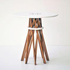 Oak Bundle Side Table