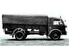 The Fiat 666NM-RE heavy truck