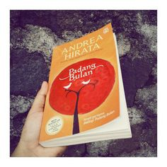 I finished a book yesterday. Andrea Hirata is amazing.