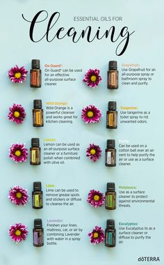 We love doTERRA Essential Oils as a natural way to clean. Try these great ways to clean with oils.