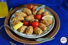 Chiftelute de naut la cuptor Falafel, Easy Meals, Easy Recipes, Meat, Chicken, Food, Easy Keto Recipes, Easy Food Recipes, Simple Recipes