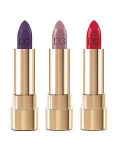 Le make-up Dolce & Gabbana bien connecte au defile - rouges à lèvres