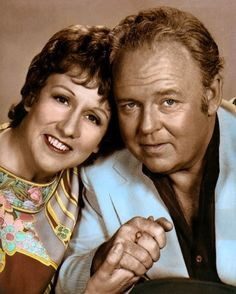 Jean Stapleton and Carrol O'Connor - Edith and Archie Bunker from All in The Family