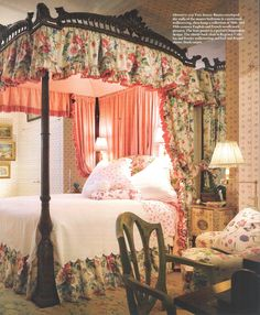 canopy bed with reading lamps