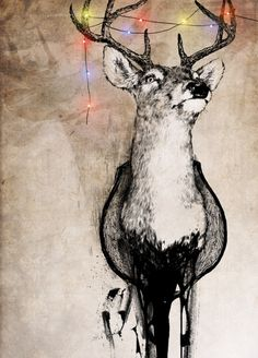 Deer / Check Lumikki's deer wall hangers / Find Lumikki on https://www.facebook.com/Lumikki.design