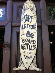 Thalia Surf Shop, Laguna Beach, California | Weekend del Sol