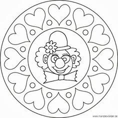 Mandala - klaun