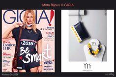 Mirta Bijoux in GIOIA 2016 #mirtabijoux #bijoux #fashion #balls #madeinitaly #designdepositato #gioia
