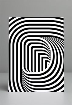 optical illusion | via MAINSTUDIO Graphic Design