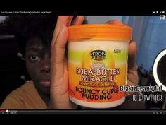 Love It or Leave It? African Pride Bouncing Curls Pudding| - Jenell Stewart - YouTube