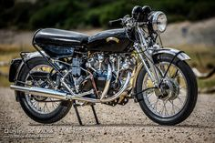 Vincent Motorcycles Photography Vincent motorcycle