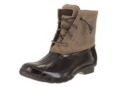 Sperry TopSider Womens Sweetwater BrownDark Tan Boot 6 Women US >>> Check this awesome product by going to the link at the image.