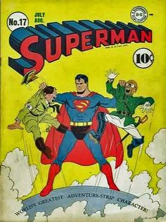 Found some vintage Superman comic books? Find out what your Superman or Action Comics are worth at Sell My Comic Books. Vintage Comic Books, Vintage Comics, Comic Books Art, Comic Art, Comic Pics, Superman Comic Books, Superman Quotes, Comics Und Cartoons, Ww2 Propaganda
