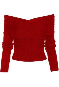 """Drop It Cross Plunging Sweater"