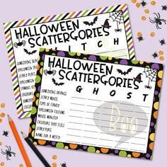 Free Halloween Games, Halloween Scavenger Hunt, Theme Halloween, Scary Halloween, Halloween Activities, Halloween 2020, Halloween Crafts, Halloween Ideas, Happy Halloween