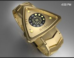 Bermuda LED Watch Concept by Colby