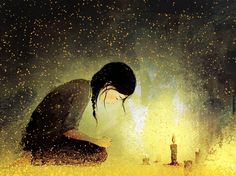 Prayer By Pascal Campion Pascal Campion, Candle Art, Doodle Doo, Just Beauty, Writing Inspiration, Cute Art, Illustrations Posters, Graphic Art, Fairy Tales
