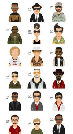 Famous sunglasses and the characters who wore them! | moviepilot.com #fanart