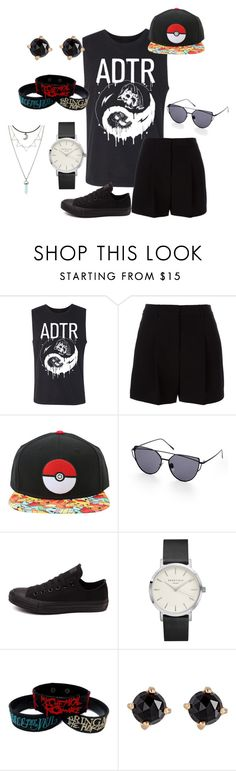 """""""Untitled #103"""" by starlord221b on Polyvore featuring DKNY, Converse and Irene Neuwirth"""