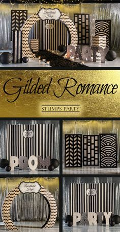 Make your guests in awe with our Gilded Romance theme kit. Complement your event with personalized elegant favors, invitations, and more! Shop all of our elegant party supplies to make your event complete!