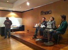 """Apresentação de """"Café Paraíso"""" na Fnac de Matosinhos, em Fevereiro de 2012."""