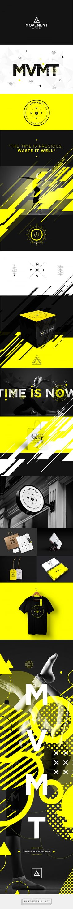 MVMT Watches / Brand - Applications + Visuals by Martín Liveratore - created via https://pinthemall.net