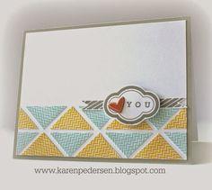 Karen Pedersen: May #SOTM card #CTMH