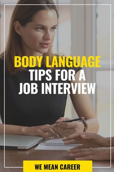 Looking for job interview tips? Wondering if your appearance conveys that you are a professional? Your attire is important, but if you want to make a strong impression, don't neglect your body language. Here is a preview of our advice: Avoid crossing your legs or arms. Keep good posture while standing and sitting. Read our complete guide and learn body language tips that will help you look confident. #bodylanguage #jobsearch #bodylanguagetips #jobinterview #jobinterviewtips Job Interview Tips, Job Interviews, Job Info, Job Search Tips, Easy Jobs, Good Posture, T Play, Body Language, Career Advice