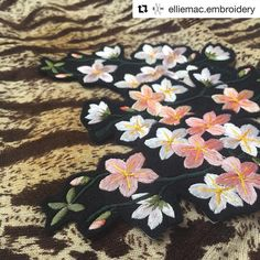 @elliemac.embroidery #embroidery #broderie #bordado #ricamo #handembroidery #needlework