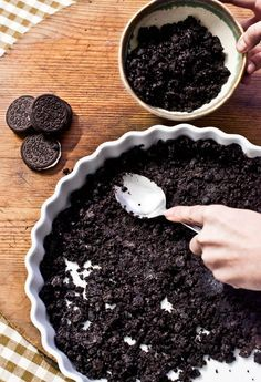 Chocolate cake with courgettes and dates - HQ Recipes Cookies Oreo, Oreo Cake, Cupcakes Oreo, Sweet Recipes, Cake Recipes, Dessert Recipes, Cheescake Oreo, Nutella Cheesecake, Dessert Oreo
