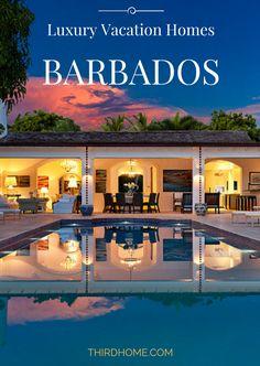 Luxury Vacation Homes Barbados - Luxury Vacation Rental - Luxury Villa Rentals - Luxury Estate - Caribbean Luxury - Caribbean Beach House - Beach Houses for Rent - Barbados Vacation Guide - Barbados Trip Planner - THIRDHOME.com