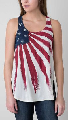 White Crow Flag Tank Top - Women's Tops/Tanks | Buckle
