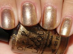 Also Known As...: OPI - Dazzled by Gold
