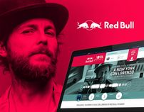 Red Bull Jova Remix Session Web & Mobile by Fabio Minerva, via Behance