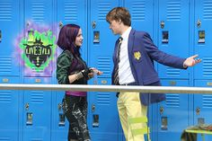 Pictures from the Disney Channel original movie, 'Descendants.'