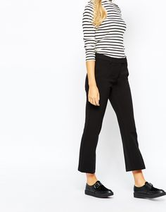 Image 1 ofMonki Cropped Tailored Trouser