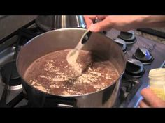How To Make Refried Beans(Mexican Recipe) - Plus A Secret To Get Great Flavor Plus Bloop...