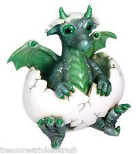 Green Phineas Dragon Hatchling Collectable Figurine