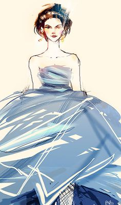 Oscar de la Renta Fall 2012 by ieatcoffee.
