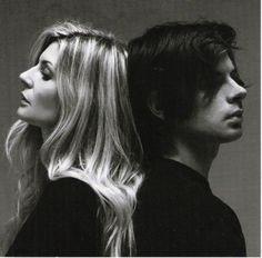 Chiara Mastroianni & Benjamin Biolay. Je ne sais pas de qui est la photo, j'adore le contraste clair et sombre