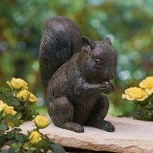 Squirrel Sculpture  £15.99  Naive sculpture reminiscent of the detailed study 'Squirrels' by German Renaissance painter Albrecht Dürer (1471-1528