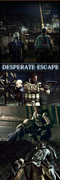 How did Jill Valentine and Josh Stone find their way to Chris and Sheva? Zombie Video Games, Playstation, Xbox, Leon S Kennedy, Resident Evil Game, When One Door Closes, Jill Valentine, Mega Man, Metal Gear