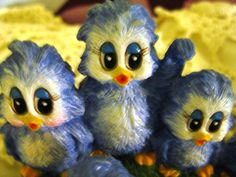 Sonshine Blue Bird Figurine 7031 Sign We're really by ChinaGalore, $30.99