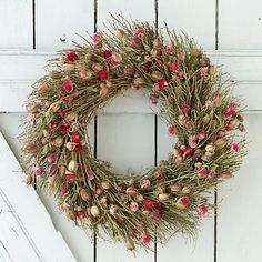 Crimson Nigella Wreath | Holiday Gift Guide for Host 2015