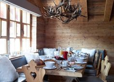 Stuebli interiors inspiration: The White Company ski chalet Haus Alpina, Klosters, Switzerland. Click the picture to read our review redonline.co.uk