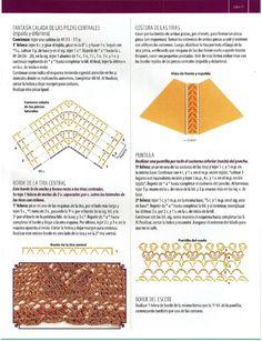 CROCHET-TEJIENDO AL CROCHET-TUTORIALES PATRONES DE PRENDAS TEJIDAS AL CROCHET