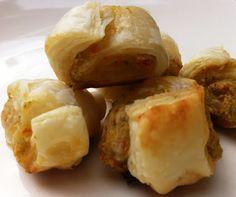 Blätterteigschnecken mit Artischocken-Creme Baked Potato, Creme, Baking, Ethnic Recipes, Artichokes, Finger Food, Bakken, Backen, Baked Potatoes